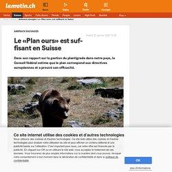 Animaux sauvages: Le «Plan ours» est suffisant en Suisse - Le Matin