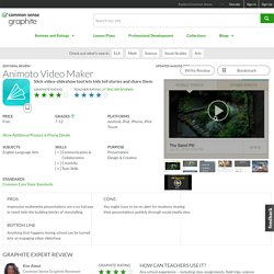 Animoto Video Maker Educator Review