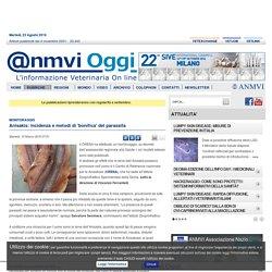 ANMVI OGGI 15/03/16 Anisakis: incidenza e metodi di 'bonifica' del parassita