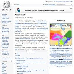 Anishinaabe - Wikipedia