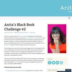 Anita's Black Book Challenge #2