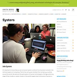 Systers - Institute for Women and Technology