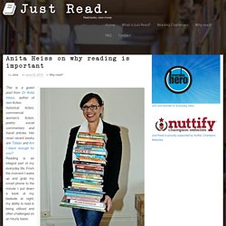 Anita Heiss on why reading is important - Just Read.