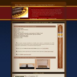Cohiba Behike 40 Aniversario Humidor, anniversary Humidors Cigars - Cuban Cigar Aficionados, genuine Cohibas Sublime, real authentic Habanos review