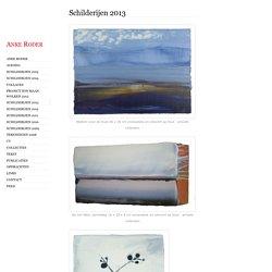 Anke Roder - Schilderijen 2013