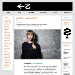 Anketa: Hudba 2015