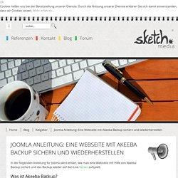 Joomla Anleitung: Eine Webseite mit Akeeba Backup sichern und wiederherstellen