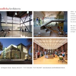 Ann Beha Architects - Portfolio