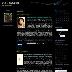 Anna Akhmatova : LA SCIE REVEUSE
