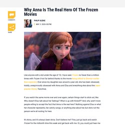Why Anna Is The Real Hero Of The Frozen Movies - CINEMABLEND