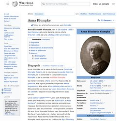Anna Klumpke