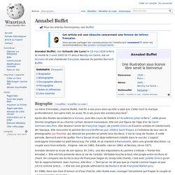 Annabel Buffet