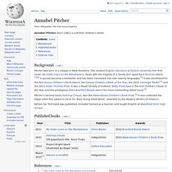 Annabel Pitcher