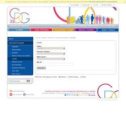 Annales / Concours et examens / Emploi / Concours / Accueil - Bienvenue sur le site du centre de gestion de la la Gironde