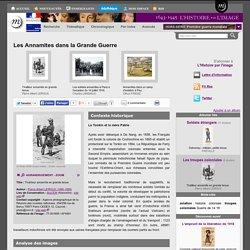 Les Annamites dans la Grande Guerre