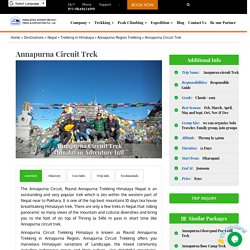 Annapurna Circuit Trek in Himalaya