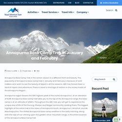 Annapurna Base Camp Trek in January and February