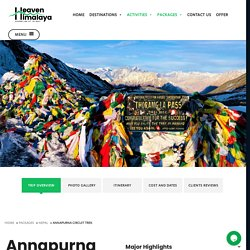 Annapurna Circuit Trekking - Annapurna Region Trek - Heaven Himalaya