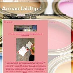 Annas bildtips: Matematik