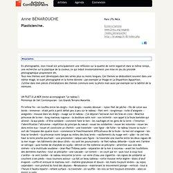 Anne BÉNAROUCHE : Plasticien/ne, à-Mozilla Firefox