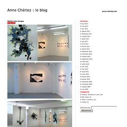 Anne Chériez : le blog
