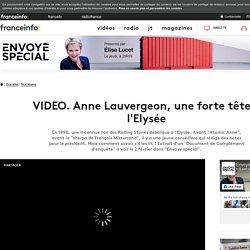 Anne Lauvergeon, une forte tête à l'Elysée