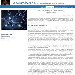 Anne-Lise Polo Neurothérapie - Méthode