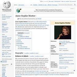 Anne-Sophie Mutter 1963-