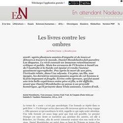 Trois anneaux : les Contes d'exil de Daniel Mendelsohn