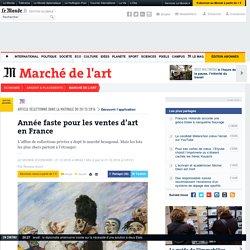 Année faste pour les ventes d'art en France