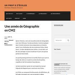 Une année de Géographie en CM2 – Un Prof d z'écoles