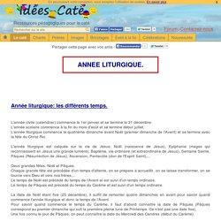 annee liturgique