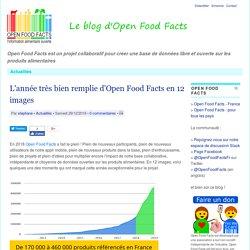 OPENFOODFACTS 29/12/18 L'année très bien remplie d'Open Food Facts en 12 images