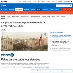Chili, 25 ans depuis le retour de la démocratie