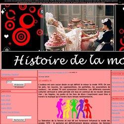 LES ANNÉES 70 - Histoire de la mode en France