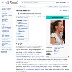 Annelise Hesme