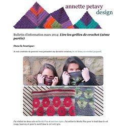 Bulletin de mars 2014 - Lire les grilles de crochet (2ème partie)