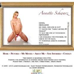 Annette Schwarz - News - Weblog