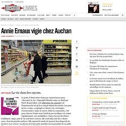 Annie Ernaux vigie chez Auchan