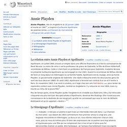 Annie Playden