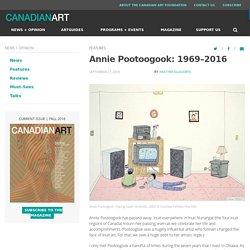 Annie Pootoogook: 1969–2016