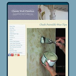 How To Use Annie Sloan Wax Over Chalk Paint®
