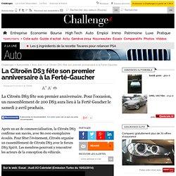La Citroën DS3 fête son premier anniversaire à la Ferté-Gaucher