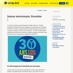 Joyeux anniversaire, Scarabée ! - Cartridge World Rennes