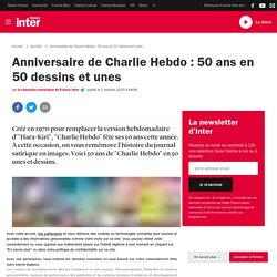 Anniversaire de Charlie Hebdo : 50 ans en 50 dessins et unes