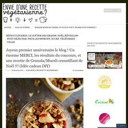 Granola/Muesli croustillant de Noël !!! (Idée cadeau DIY)