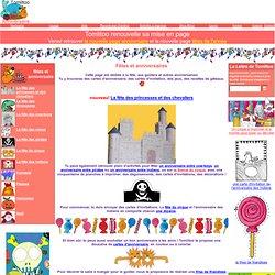 Fêtez votre anniversaire avec Tomlitoo des cartes d'invitation, des décorations, des jeux pour faire la fête entre enfants