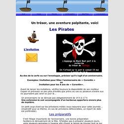 anniversaire enfant theme Pirates