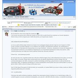 Anniversaire du C15!!! « .: BX World : Le Site et Forum préféré des passionnés de la Citroën BX :.