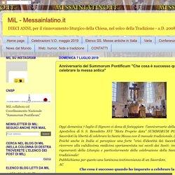 """Anniversario del Summorum Pontificum """"Che cosa è successo quando ho imparato a celebrare la messa antica"""""""